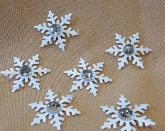 White snowflakes, cardstock snowflakes, snowflakes, winter theme showflakes, frozen theme snowflakes, invitations, party favor snowflakes