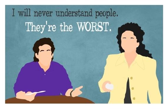 CUSTOM Seinfeld Print