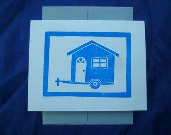 Tiny House Notecard