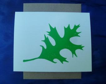 Oak Leaf Notecard