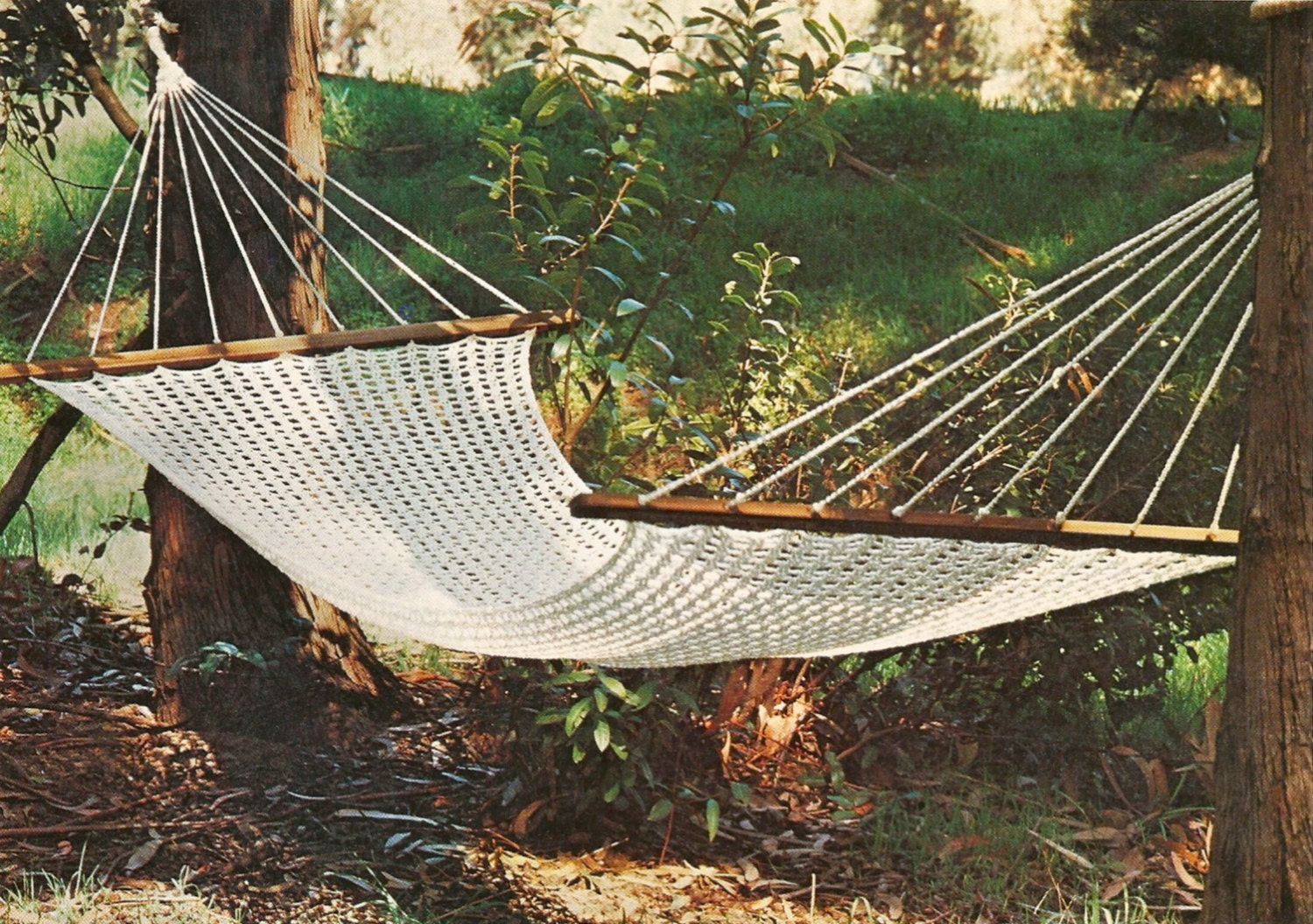 crochet macrame hammock pattern instant download