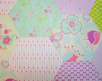 Destash fabric Party Dress by Mo Bedell for Bluehill  fabrics Quilt cotton 1 yard