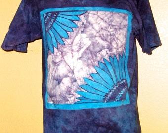 Batik Sun Flower T-shirt
