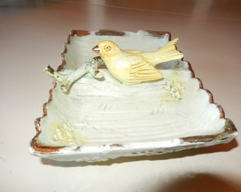 BIRD SERVING DISH