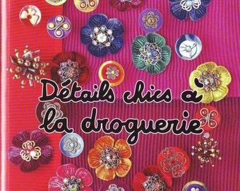 Détails chics á la droguerie Magazine, ebook Pattern, Instant Download, PDF (RM048)