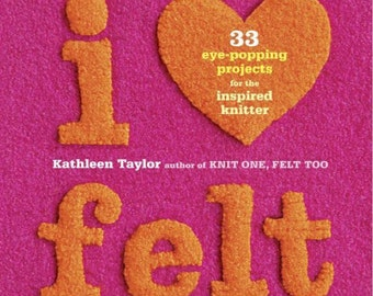 I love felt Magazine, ebook Pattern, Instant Download, PDF (RM020)