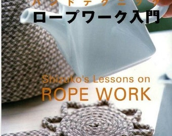 Rope Work SEW accesories Japanese Magazine, ebook Pattern, Instant Download, PDF (RM025)