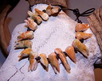 Tooth Bracelet Blood Horror Human Teeth Halloween Horror Cannibal