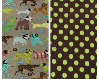 Fleece Medium Dog Blanket(D47)