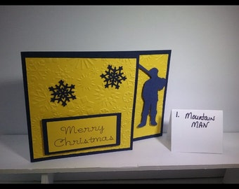 Mountain Man Christmas Card