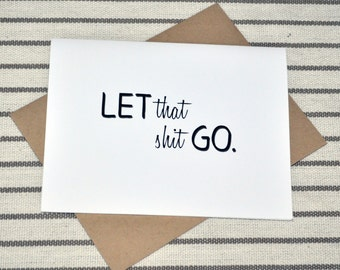 Card for Someone Struggling to Accept What Must Be Let Go