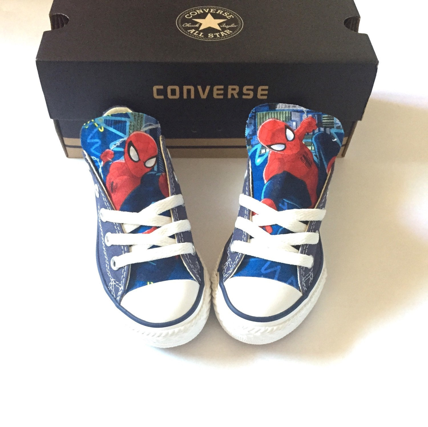 Spiderman Converse Shoes Kids Spider Man Avengers