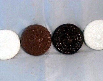 Chocolate Military Coins (dozen)