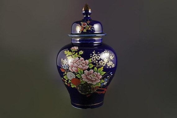 Ginger Jar Bijutsu Toki Japanese Art