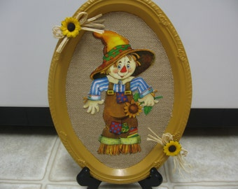 Fall Decor-Fall Scarecrow Tray-Fall Plaque-Fall Wall Decor