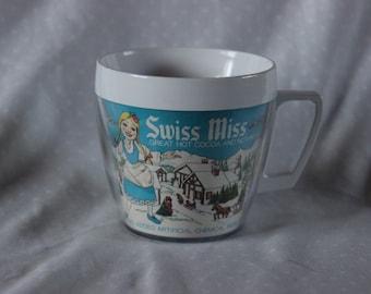 Swiss Miss Hot Cocoa Insulated Mug, 1970s