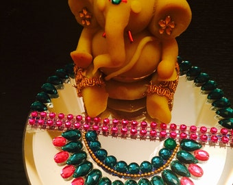 Ganesha Idol / Elephant god / Pooja Idol/ Right Trunk Ganesha/ Vinayaka/ Lucky ganesha