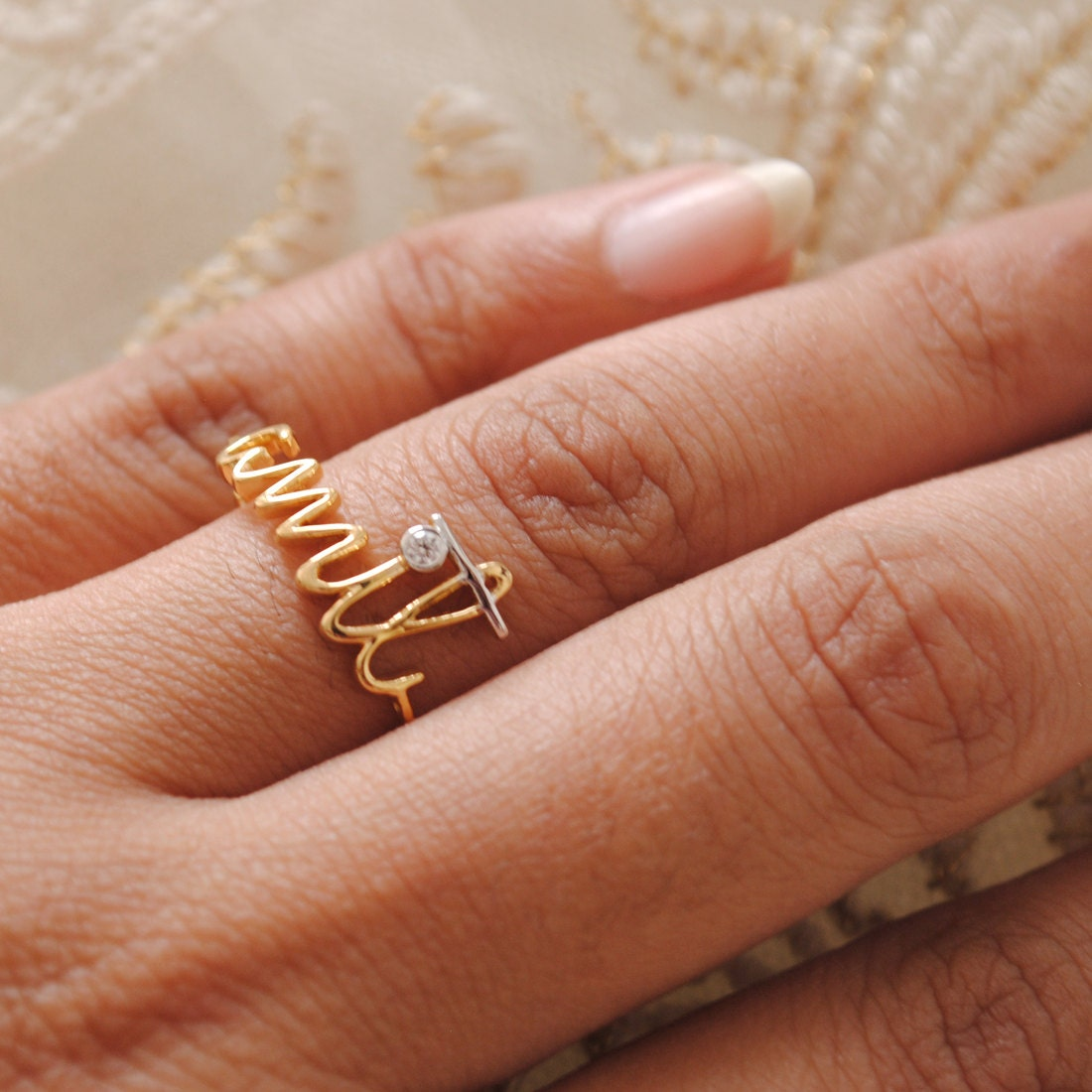 Custom Name 14k Yellow Gold Engagement Ring Gold & By. Cheap Simple Engagement Engagement Rings. Amazing Wedding Rings. Garnet Side Stone Wedding Rings. Kid Wedding Rings. 4 Prong Engagement Rings. Shoe Engagement Rings. Pear Rings. Large Finger Wedding Rings