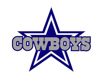 Full Color Dallas Cowboys - Die Cut Decal