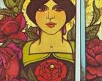 Morgan Greer Tarot,English Tarot,78 cards,classic Rider Waite style tarot,Tarot reading,divination,Classi Tarot,true love