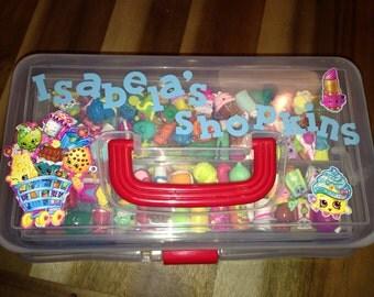 Personalized shopkin case