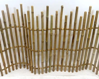 Bamboo Picket Fence, 5'L x 3'H, NBF-36