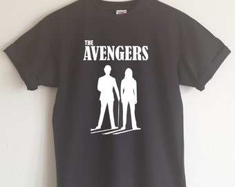 The Avengers T-shirt - 1960's Cult Tv, All Sizes/Colours