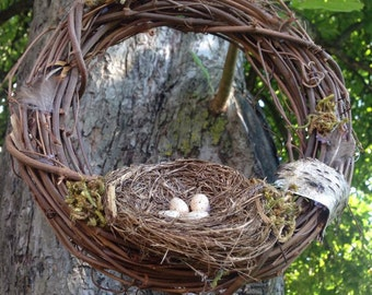 Small Spring/Summer Nature Wreath