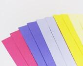 Purple and yellow envelope set - 10 pc