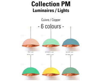 Hanging lights - COLLECTION PM - Colors to choice and COPPER