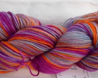 Handdyed Pure Wool 4ply Yarn CC15/252