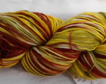 Handdyed Pure Wool 4ply Yarn CC15/253