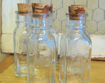 Honey Jar With Cork Etsy