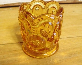 Amber Toothpick Holder
