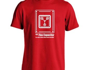 Flux Capacitor Men's T-Shirt CL0343