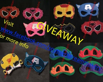 Mask GIVEAWAY!!!