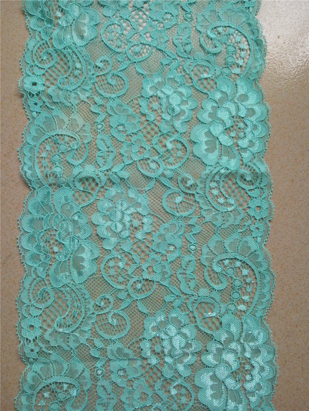 turquoise lace runner 7 wedding table runner lace