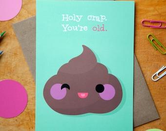 Greeting Card : Poop