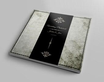Square Wedding Photobook Template