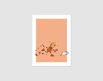 Print - Poster child No2 - 30 x 40