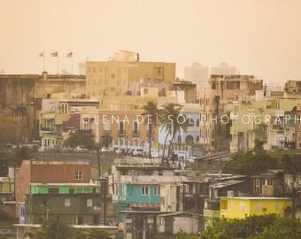 Puerto Rico photography, Fine art photography, Caribbean decor, Wall decor, Travel photography, Old San Juan, Tropical decor, Gift idea