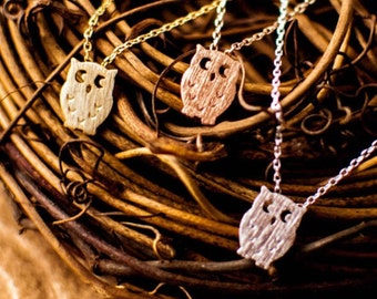 Chi Omega Owl Necklace