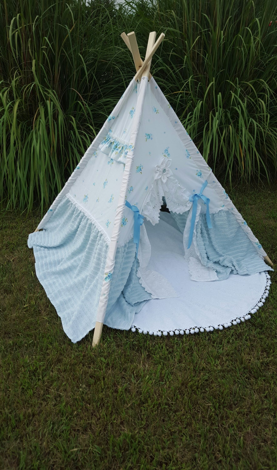 Vintage Children 39 S Teepee Play Tent