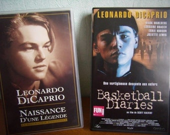 Basketball Diaries and birth of a legend (VHS) 1995, French language, Leonardo DiCaprio