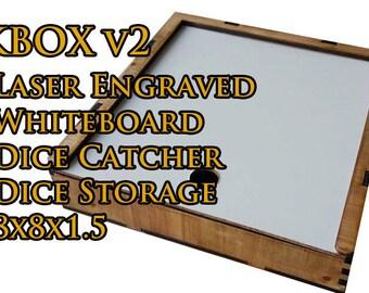 "KBOX ""Dutchess"" - Artisan Dice Tray and Whiteboard"