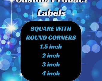 Custom Product Label Round Square/Beauty Product Labels/Jar Labels/Custom Logo Label/Business Label/Product Stickers/Custom Product Branding