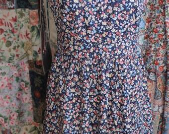 Printed Cotton Floral Summer dress REF 273