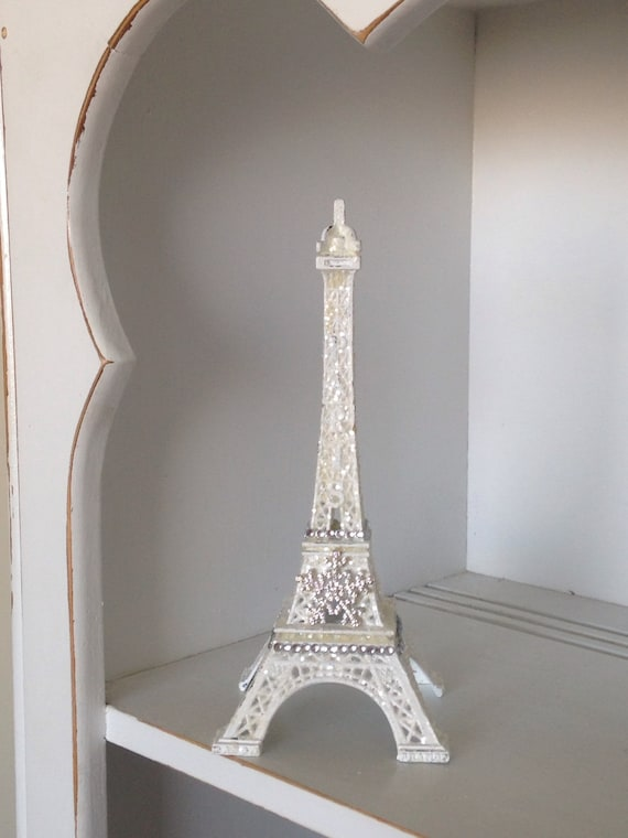 Christmas Eiffel Tower Christmas Decor Shabby Chic