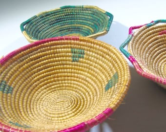 Large Woven Bowls