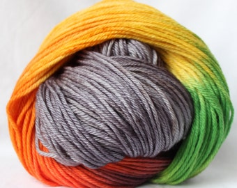 how to change a worsted weight yarn for bulky yarn